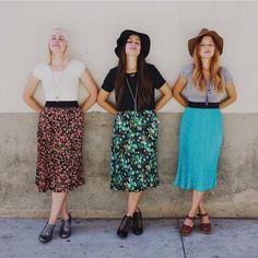 Three lovelies in three different Jill skirts!  #lularoejill #LuLaRoe PC: @sloanphotographers @lularoejennking