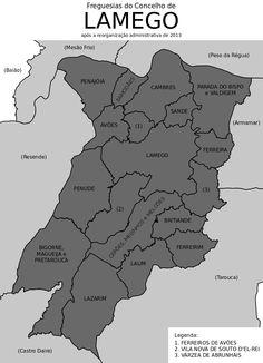 Freguesias do concelho de Lamego