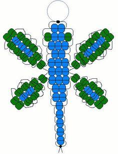 Dragonfly Pony Bead Pattern