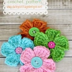Easy Daisy Pattern