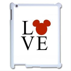 Disney Inspired Mickey Mouse LOVE Apple iPad 2 3 Air Mini Case Cover #UnbrandedGeneric