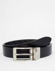 Image 1 of Fred Perry Argyle Reversible Leather Belt