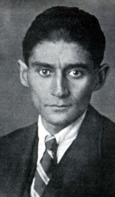 The famous last photo of Franz Kafka; age 40 and dying of tuberculosis. (1924)