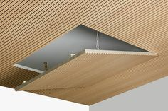Techos acústicos registrables · Acoustic ceilings and facings with new matching accessories and finishes ITP