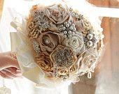 Jeweled bouquet designed by VioGemini