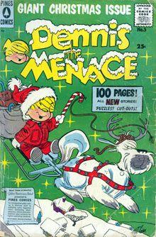 Dennis the Menace comic book