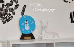 PynteMynthe og Mor: Snekugle i pap // Kreativ julekalender #6