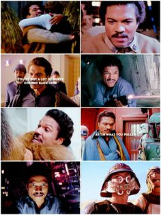 lando calrissian i've just made a deal that'll keep the empire out of here forever. Lando Calrissian, The Phantom Menace, Original Trilogy, George Lucas, The Empire Strikes Back, Bad Feeling, A New Hope, Last Jedi, Star Wars Characters