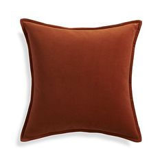 """Brenner Rust Orange 20"""" Pillow 