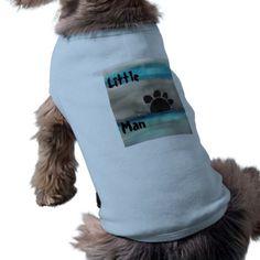 """Little Man"" Dog Shirt - home gifts cool custom diy cyo"