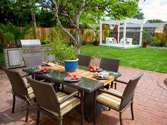1000 id es sur barbecue de jardin sur pinterest salades de fruits c nes cr - Coin barbecue jardin ...