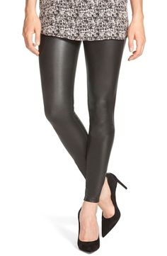 134196d891d3d6 In need of: a new good pair of go to leather leggings, Fall is upon us! Hue  Faux Leather Leggings available at