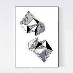 #terrazzo poster by 5mm Paper. Terrazzo stone is combined with geometric graphic art. Very unique piece of wall art. Printed on 200 grams of high quality matte paper and available in sizes A3 (29.7 x 42 cm) A2 (42 x 59.4 cm). Frame not included.