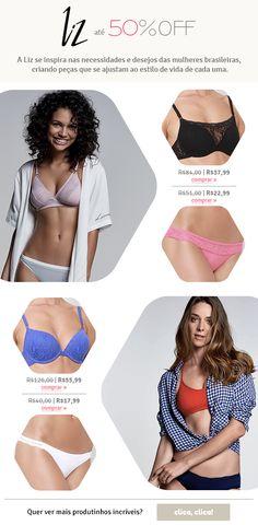 E-mail extra da marca Liz Bikinis, Swimwear, Bra, Fashion, Moda, One Piece Swimsuits, Bikini, Bikini Swimsuit, Fasion
