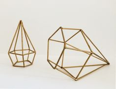 Prisma Diamant Set Goud