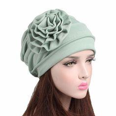 Female winter hat cotton beanie women for autumn women cancer chemo hat  beanie scarf turban head db7d8cc9e657