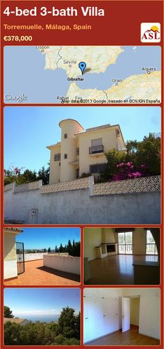 4-bed 3-bath Villa in Torremuelle, Málaga, Spain ►€378,000 #PropertyForSaleInSpain
