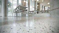 grey honed concrete floors - Google Search