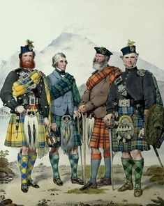 For anyone of Scottish ancestry, the kilt is a symbol of honour for the clan to which they belong. First worn by those who lived in the Scottish Highlands, the kilt was a matter of dress that. Scottish Gaelic, Scottish Tartans, Scottish Highlands, Scottish Hat, Scotch, Shetland, Scotland History, William Wallace, Men In Kilts