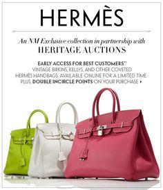 Exclusive HERMES handbags