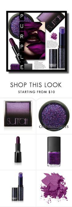 """Purple"" by gracecar3 ❤ liked on Polyvore featuring beauty, Surratt, Giorgio Armani, NARS Cosmetics, Lipstick Queen and Bobbi Brown Cosmetics"