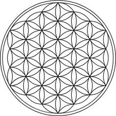 """If we continue to place circles, the Seed of Life becomes the """"Flower of Life"""". One of the most important figures in sacred geometry. The Flower of Life is found all over the world in different temples. Among others in the temple of Seti I, the temple where Osiris has risen (resurrection) in Abydos. In different temples in Jerusalem and India and many more places in the world. All geometry can be traced back to the Flower of Life. #FlowerofLife #SacredGeometry Egg Of Life, Fibonacci Golden Ratio, Temple In Jerusalem, Divine Proportion, Platonic Solid, Everything Is Connected, Pyramids Of Giza, Flower Of Life, Geometric Art"""