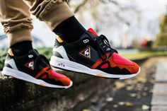 Highs and Lows x Le Coq Sportif R1000 'Black Swan' - 2014 (by shoecrewmd)