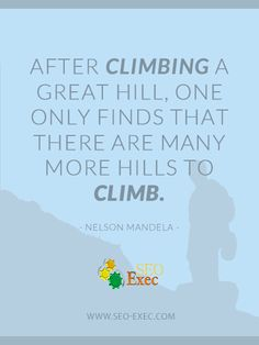 great quote from Nelson Mandela