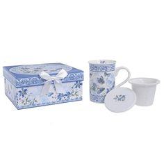 Porcelain Mug With Cover