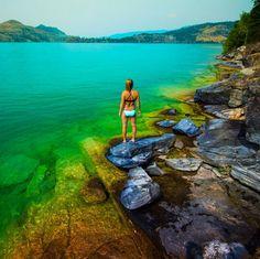 not so faraway #kalamalka lake, Vernon, BC