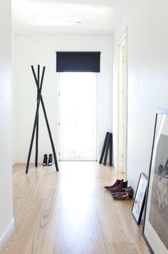 this looks like an easy coat rack DIY project