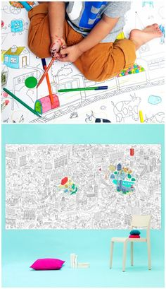 BIG Coloring Sheets for Kids   OMY Design and Play