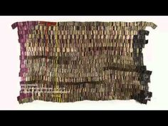 "El Anatsui, artist from Ghana, slide show of ""When I last Wrote you of Africa"""