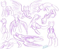 Other tutorials: Let's Draw: Pony Heads! Sorc Art Tips- Expressi. Let's Draw: Pony Wings! Animal Sketches, Animal Drawings, Drawing Sketches, My Drawings, Dessin My Little Pony, My Little Pony Drawing, Art Reference Poses, Drawing Reference, Poses References