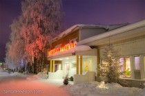 Familienhotel: das Hotel Aakenus in Rovaniemi in Lappland in Finnland