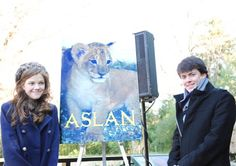 Chronicles of Narnia stars name lion cub