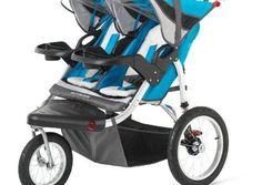 Schwinn Discover Double Swivel Stroller