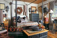 Hazelwood home, Country Sampler Magazine