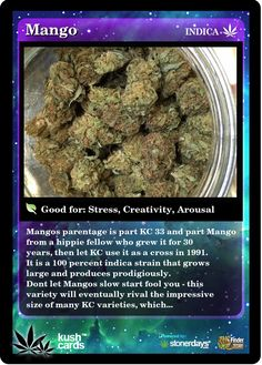 Mango Medical Marijuana Reviews - THC Finder