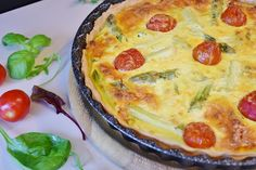 Asparagus Quiche. See more at www.healthtaboo.com
