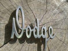 Vintage Auto Dodge Car Emblem by JUNQFUSION on Etsy, $19.00