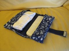 Diaper Clutch - Cut Out + Keep- cute idea and great for a dyi baby shower gift  Put a pocket on the front for money+keys+ex...
