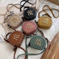 Luxury Purses, Luxury Bags, Cute Purses, Purses And Bags, Round Bag, Beaded Purses, Green Cream, Cute Bags, Cross Body Handbags