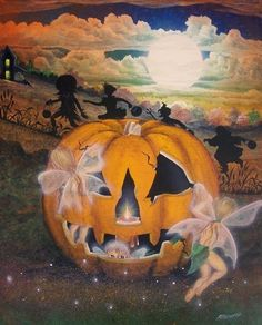 faries of halloween