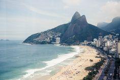 Ipanema Beach, Brazil.