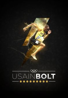 Usain Bolt | Wallpaper on Behance