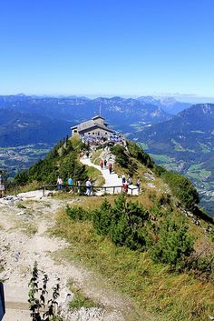 Hitler's Eagle's Nest; Berchtesgaden, Germany. so much history, I will make it here!