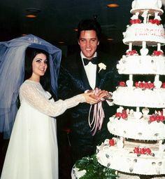 Celebrity wedding beauty mishaps .....Elvis & Priscilla Presley