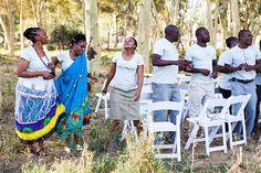 The Pafuri choir singing for a Pafuri Bush Wedding Kruger National Park, National Parks, Picnic Blanket, Outdoor Blanket, Bush Wedding, Trail Guide, Choir, Safari, Singing