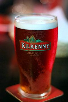 Kilkenny - a delicious red beer popular everywhere in Ireland.